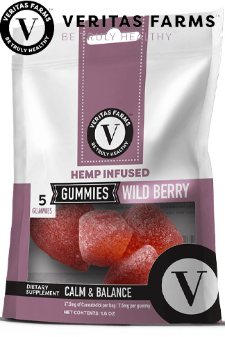 Wild Berry CBD Gummies 5 ct 7.5 mg