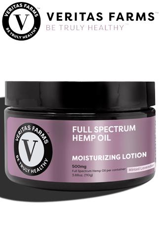 Veritas Farms - Full Spectrum CBD Lotion 500 mg