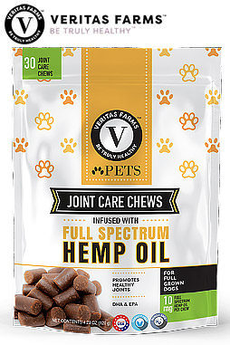 Dog Chews Infused With Full Spectrum Hemp Oil