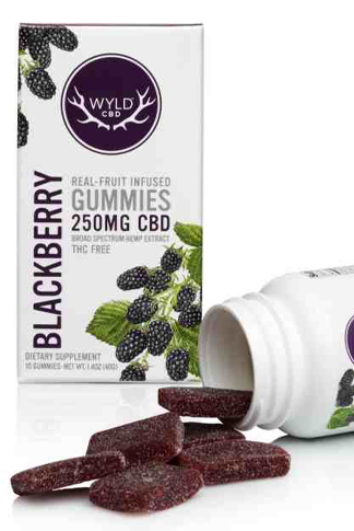 Wyld CBD - Wyld CBD Blackberry Gummies