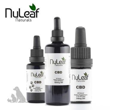 Nuleaf Naturals - Full Spectrum Hemp CBD Capsules (15mg/softgel) 300mg
