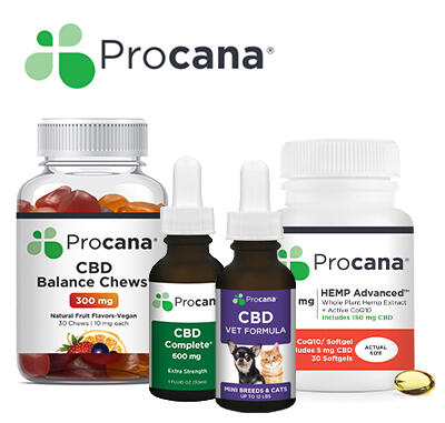 Procana - CBD For Dogs (Large Breed) Tincture 210mg