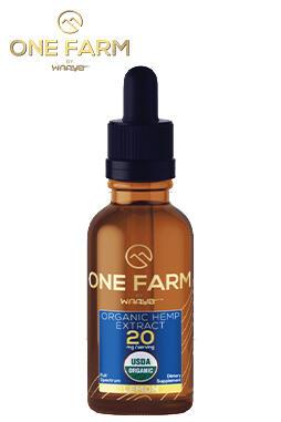 undefined - One Farm by WAAYB 20mg/mL USDA Organic CBD Oil