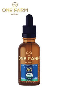 undefined - One Farm by WAAYB 30mg/mL USDA Organic CBD Oil 30ml