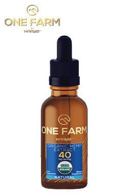 undefined - One Farm by WAAYB 40mg/mL USDA Organic CBD Oil 30ml