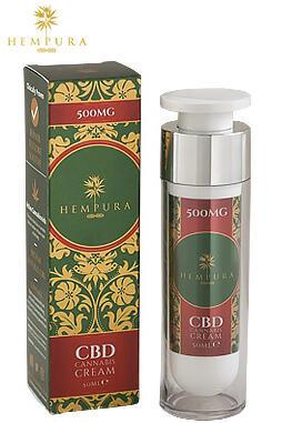 undefined - Hempura 500mg CBD Cream (50ml)