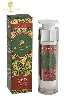undefined - Hempura 250mg CBD Cream (50ml)