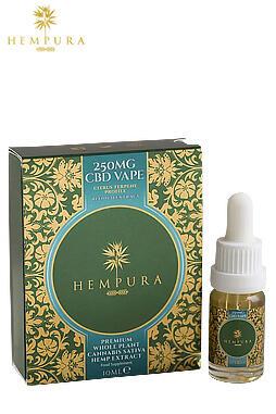 undefined - Hempura 250mg Refined Extract CBD Vape Juice (10ml)