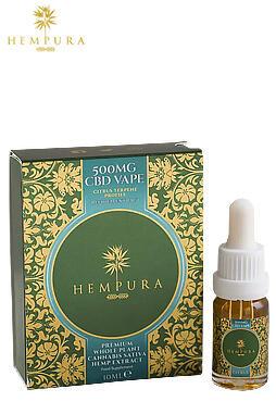 undefined - Hempura 500mg Refined Extract CBD Vape Juice (10ml)