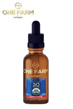 One Farm by WAAYB 30mg/mL USDA Organic CBD Oil 60ml