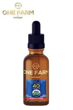 undefined - One Farm by WAAYB 40mg/mL USDA Organic CBD Oil 60ml