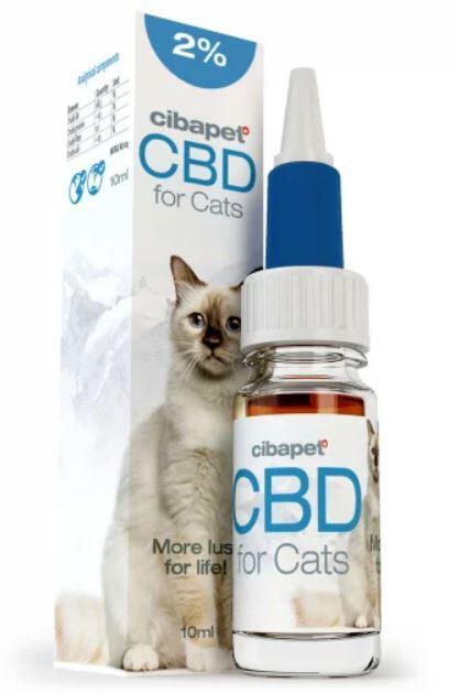 Cibdol - CBD Oil 2% For Cats