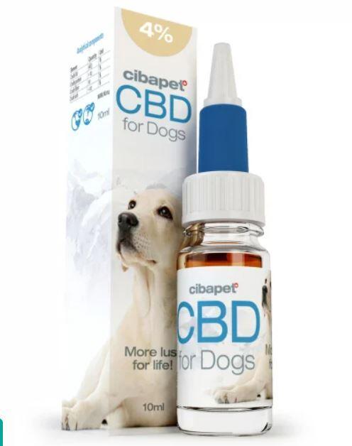 Cibdol - CBD Oil 4% For Dogs