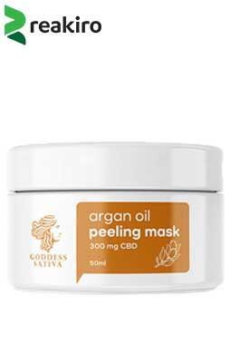 undefined - CBD Facial Argan Peeling Mask