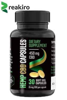 Reakiro - CBD Gel Capsules 450 mg 30 pcs