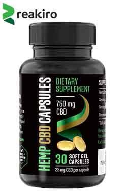 Reakiro - CBD Gel Capsules 750 mg 30 pcs