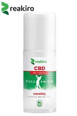 undefined - Muscle Relief Warming Gel, 500 mg CBD, 100 ml