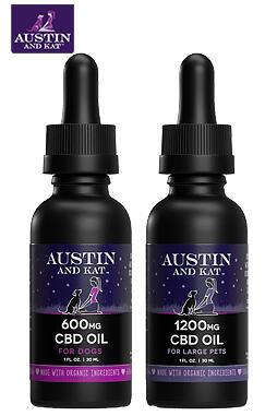 Austin and Kat - High potency hemp extracts 600mg