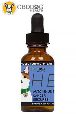 CBD Dog Health - Heal – 1100 mg Full Spectrum Hemp Extract (CBD) for Cats