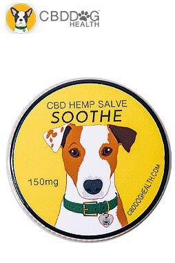 Soothe Full Spectrum Hemp Extract (CBD) Salve For Allergies, Hot Spots, Bug Bites And Dermatitis