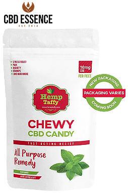 CBD Essence - CBD Candy – Mint Chewy Edible Candy 10pc