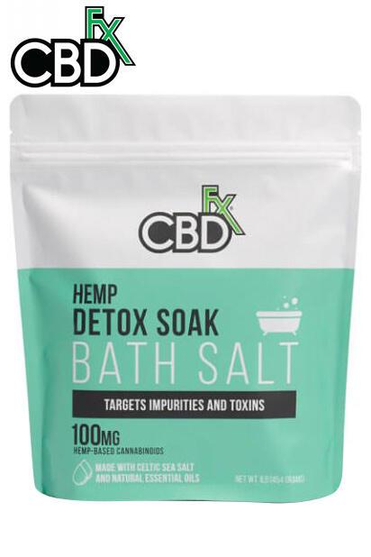 undefined - CBD Bath Salt – Detox 100mg