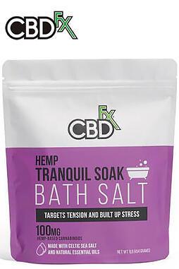 CBD Bath Salt – Tranquil 100mg