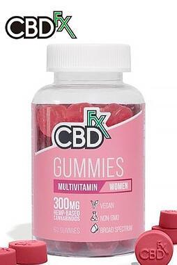 CBDfx - CBD Gummies with Multivitamin For Women