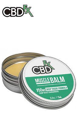 CBDfx - CBD Balm – Muscle Balm