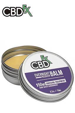 CBDfx - CBD Balm – Overnight Recovery