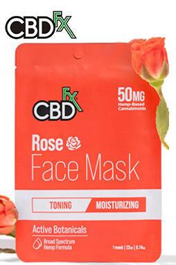 CBDfx - CBD Face Mask – Rose