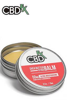 CBDfx - CBD Shea Butter Citrus Balm