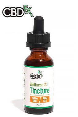undefined - Wellness CBD + CBG Oil Tincture 2:1 2000mg