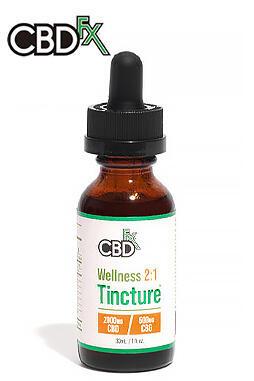 Wellness CBD + CBG Oil Tincture 2:1 2000mg