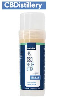 1000mg Broad Spectrum CBD Relief Stick - 0% THC*