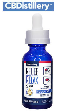 undefined - THC-Free Pure CBD Oil Tincture – 1000mg – 30ml