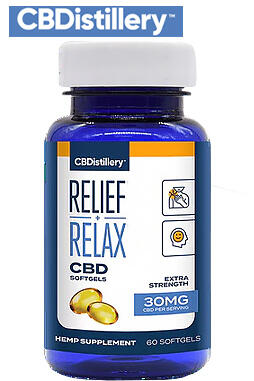 undefined - Full Spectrum CBD Softgels – 30mg – 60 Count