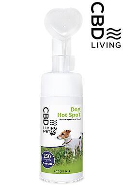 CBD Living - CBD Living Dog Hot Spot 250mg