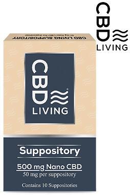 CBD Living - CBD Living Suppositories