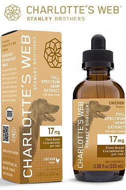 undefined - Full Spectrum Hemp Extract Drops W/17Mg CBD For Dogs 100ml