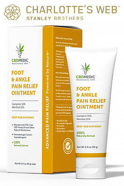 Foot & Ankle Pain Relief Ointment