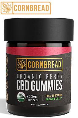 Cornbread Hemp - Full Spectrum CBD Gummies 300mg 30ct