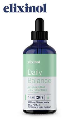 Daily Balance Tincture Broad Spectrum 4000mg