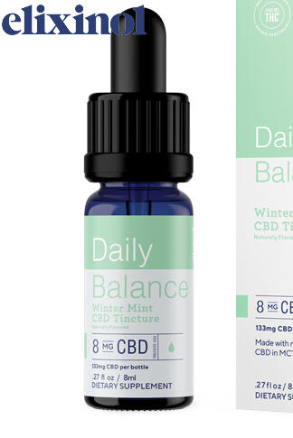 undefined - Daily Balance Tincture Broad Spectrum 8mg