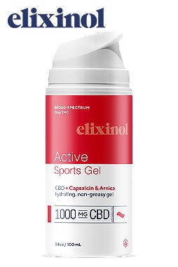 Elixinol - Sports Gel