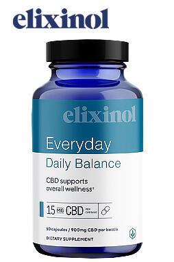 Elixinol - Daily Balance Capsules 60ct