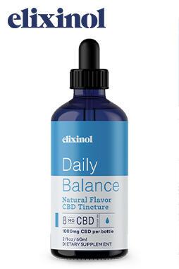 Elixinol - Daily Balance Tincture Full Spectrum 1000mg
