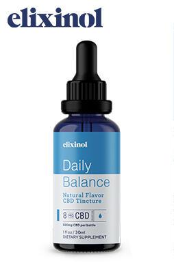 Elixinol - Daily Balance Tincture Full Spectrum 500mg