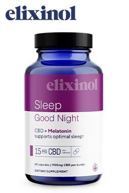 Elixinol - Good Night Capsules