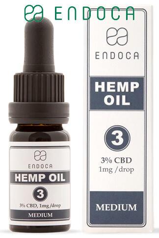 CBD Oil 30Mg CBD/ml (Medium)